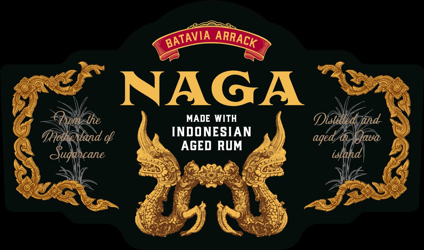Label Naga Rum - Naga Rum